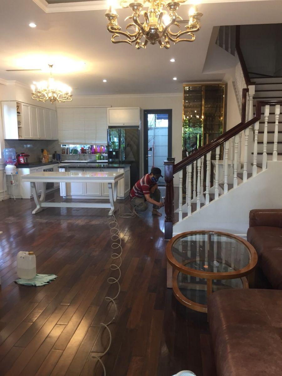 sơn sửa sàn gỗ