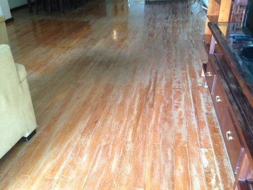 sàn gỗ kém chất lượng cũng là 1 nguyên nhân | noithatgovn.com