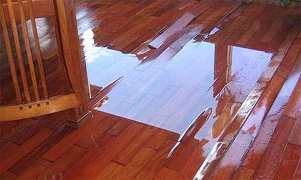 sàn gỗ bị hư do ẩm