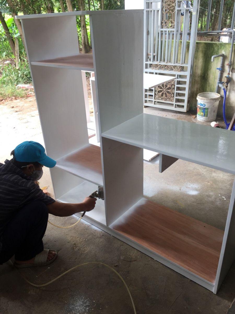 sơn sửa nội thất gỗ   cơ sở mộc phú quảng