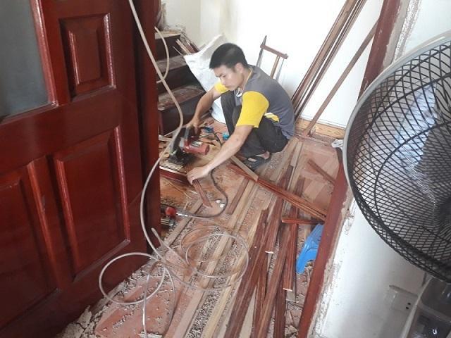 sửa chữa sàn gỗ uy tin   noithatgovn.com