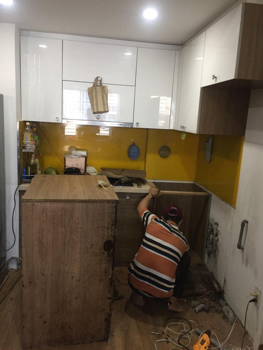 sửa tủ bếp mối mọt tại tphcm